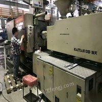 出售中山工厂生产中海天300吨变量泵4台帶油干燥斗和机械手