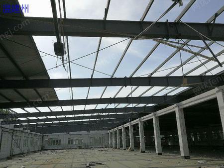 出售九成新的钢构厂房70*50 方管