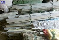 河南高价回收PVC塑钢毛料