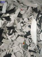 河南长期高价回收PVC塑钢破碎料