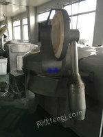 出售二手斩拌机 沈阳吉祥产200型真空斩拌机二套