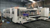 上海圣龙高速水墨印刷开槽模切机