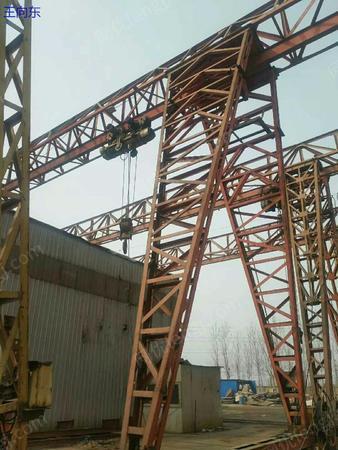 花架龙门吊4台出售10吨20吨20米