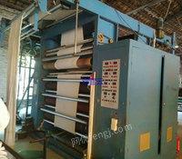 出售二手磨毛机 新元立式6辊砂皮磨毛机,门幅2米.2012年.