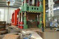 处置积压原厂8000吨四柱水压机