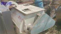 广东汕头出售二手500升双轴混合机 二手不锈钢混合机 二手饲料混合机