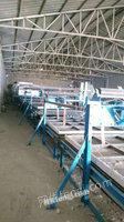 出售9成新机器铺网型棉被生产线2300型