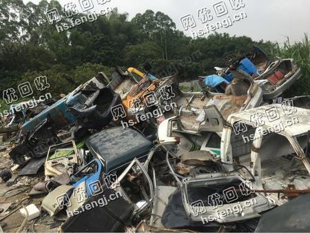 广东惠州地区出售汽车框架铁 大车铁