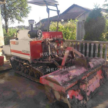 出售沃得猛龙385旋挂式,带旋耕机一台。