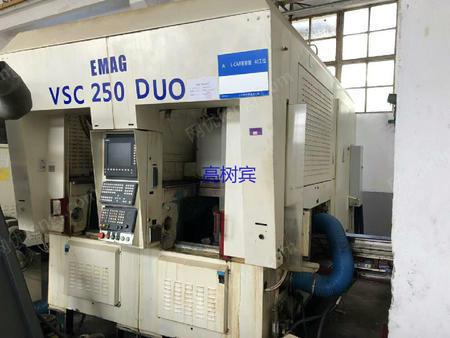出售德国产双舱室倒立车 西门子840D系统 已经调试运转正常 可负责安装调试