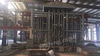 板材厂出售浙江3*6尺20层1000吨热压机1台,询价