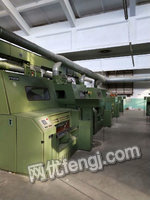Selling one set used blowing-carding machinery,spinning machine:203A,1:12