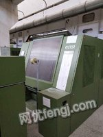 Selling one set blowing-carding machinery,RIETER carding machine of C51,one machine&two lines,1:12,year 2004