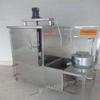 不锈钢卤水豆腐压架大豆腐生产线厂家豆腐脑磨浆机