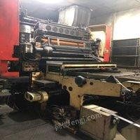 转让金属板胶印机可试机