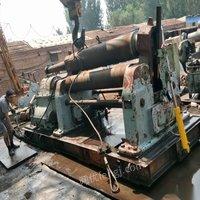 出售25*2500长治卷板机.200吨焊接滚轮架