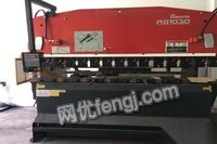 100吨3.2米amada折弯机、rg100出售