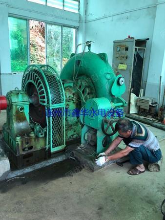 供应160-42混流式水轮机、发电机