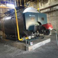 河北出售2-6吨二手燃气燃油蒸汽锅炉