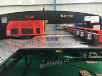 出售转让二手金方圆数控转塔冲床VT300、数控冲床,金方圆产,型号:VT300