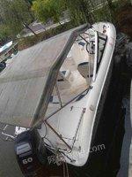 打包出售快艇 玻璃钢艇 游艇 摩托艇
