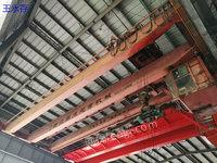 杭州工地出售 20吨葫芦跨度19.5米一台(杭州葫芦) 13.5米一台(江阴凯橙