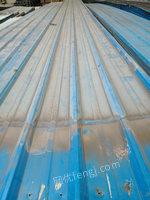 出售彩钢瓦 红色铁皮瓦14吨  0.4厚