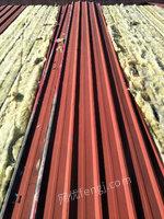 山东出售彩钢瓦 蓝色铁皮瓦45吨 0.5厚