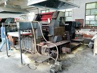 出售JS2012对开双面胶印机