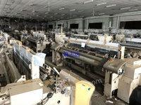 出售二手喷气织机 津田驹9100-230双喷史陶比尔1661积极凸轮,接经机2台