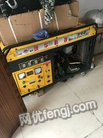 高价采购汽油15KW单相发电机一台
