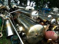 供应 旧蒸发器、三效、四效浓缩、薄膜蒸发器、价格低廉