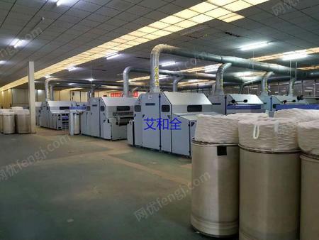 山东泰安出售14台FA224B二手棉麻纺纱设备电议或面议