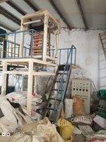 塑料包装厂出售瑞安、上海吹60公斤吹膜机(50螺杆)2台,询价,有图片