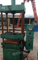 积压旧设备出售63吨四柱四压力机全套防腐罐50方锯床