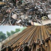收购大量废旧钢材,废铁,油管,钢筋,钢板,轻薄料等