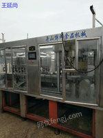 黑龙江佳木斯出售20台及多台三合一多种型号九成新全自动定量饮料灌装机