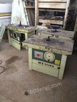 河北沧州出售二手木工设备大立轴
