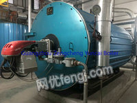 Selling used 1.5 million calorie gas boiler of heat conducting oil