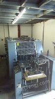 印刷厂出售13年东航56四色印刷机,冠华670热敏CTP制版机.CTP切纸机.六开打码胶印机