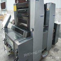 急售海德堡sm52/2双色印刷机