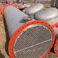 梁山王延尚低价处理5至1000平方不锈钢列管式冷凝器