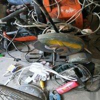 品牌机器9成重轻型各虎头一台,三相切割机三台台钻两台切