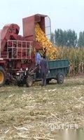 出售闲置二手雷沃4行玉米收割机玉柴140马力
