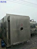 市场库存湖南岳阳100台二手30平方冷冻干燥机 二手冷冻设备