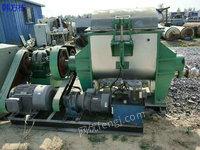 湖南郴州出售100台二手500升电加热捏合机 自动翻缸 二手捏合机