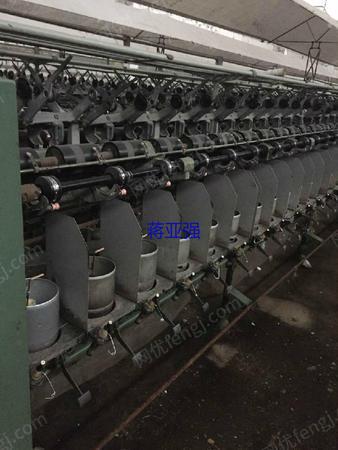 出售二手日本村田373大倍捻倍捻机120锭,筒径190mm,3台。