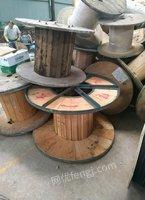 高价回收旧电缆线盘,铁木盘,木盘