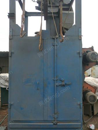 河北沧州出售1台376二手抛丸机电议或面议