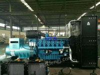 出售二手柴油发电机组30千瓦-2000千瓦